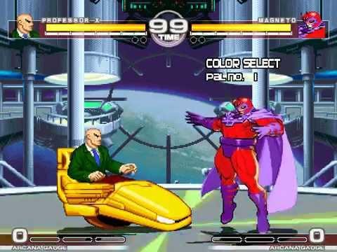 MUGEN : Comic Classics 2 Professor X vs Magneto