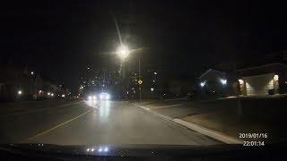 Dash cam Near Crash with a Tow Truck On Weldrick Rd (Eastbound) Wed. Jan 16, 2019