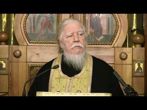 Протоиерей Димитрий Смирнов. Проповедь накануне столетия Октябрьского переворота