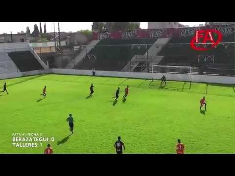 FATV 14 Fecha 12 - Berazategui 0 - Talleres 2