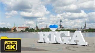 4K LATVIA, RIGA OLD TOWN TRAVEL GUIDE VIDEO, Best Places To Go, Top Attractions, Best Things To Do
