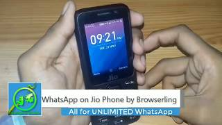 Download whatsapp on jio phone with unlimited time | Hindi