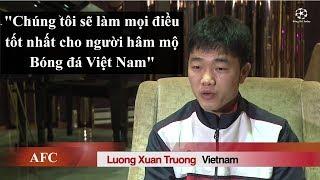 Lương Xuân Trường bằn tiếng anh trong chương trình Talk Việt Nam