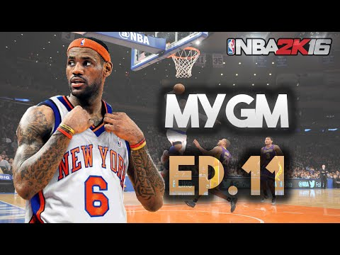 NBA 2K16 MyGM Ep. 11 - New York Knicks | Free Agency | Lebron James Signing?