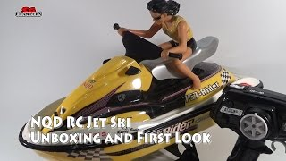 NDQ Jet Ski Toy grade RC Jet Ski Unboxing and First Look