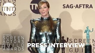 Allison Janney: Press Room Q&A | 24th Annual SAG Awards | TNT