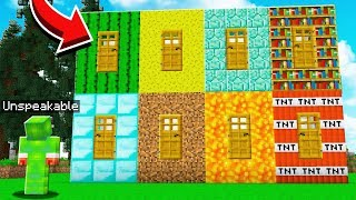 8 NEW MYSTERY MINECRAFT DOORS!