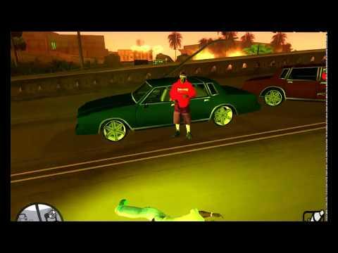Первая Версия GTA SA Reborn! CJ в Стрип клубе (сборка для САМП)