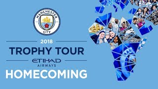 Manchester City Global Centurions Trophy Tour
