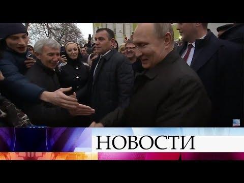 Владимир Путин обсудил ситуацию в Дагестане с местными чиновниками и представителями общественности.