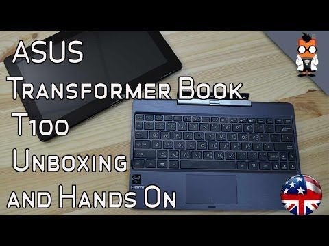 ASUS Transformer Book T100 Unboxing and Hands On