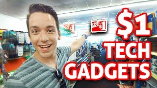 $1 Dollar Store Tech Gadgets TESTED!!