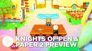 Knights of Pen & Paper 2 - Gameplay Preview