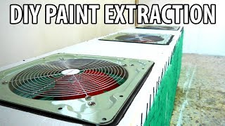 Car Workshop Build Ep 4 | DIY Paint Booth Extraction