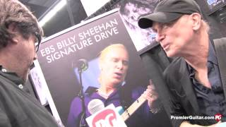 BILLY SHEEHAN Interview Discusses New Signature EBS Drive Pedal