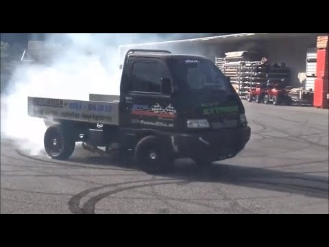 mini truck drifting - mini truck with hayabusa turbo ...
