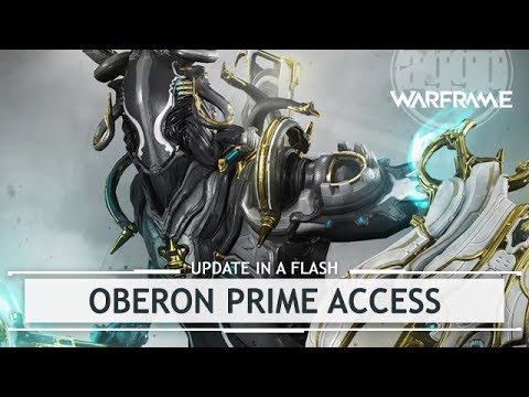 Warframe: Oberon Prime Access & Relic Drop Locations - First Look [inaflash]