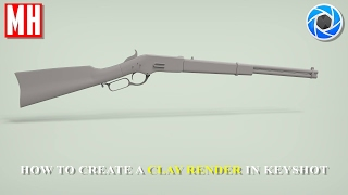 Keyshot 6 tutorial ; How to create a Clay render