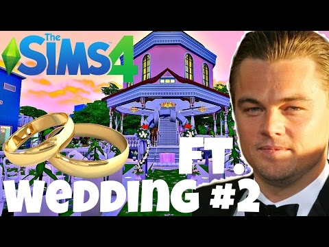 Sims 4: Wedding #2 ft. Leonardo DiCaprio | Planet Plumbob