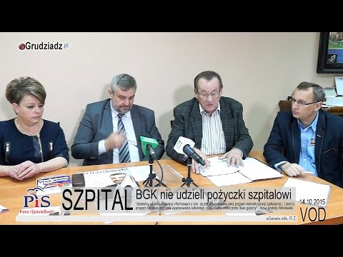 BGK Nie Udzieli Pożyczki Szpitalowi  - Sytuacja Szpitala W Grudziądzu