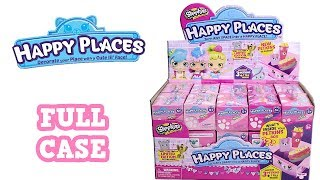 Shopkins Happy Places Season 3 Blind Box Full Case Unboxing Petkin Boxes Opening Entire Case