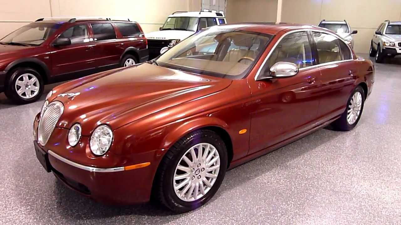 2005 jaguar s type 4dr sedan v8 vanden plas 2076 sold