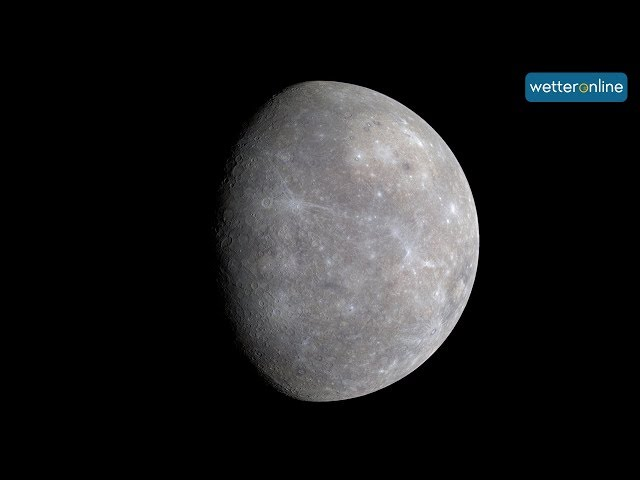 Das Wetter auf dem Merkur 21.10.2018