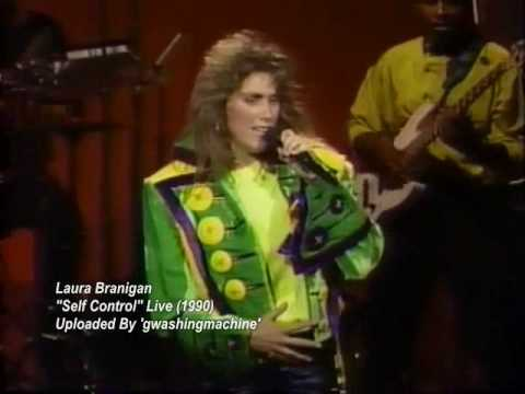 Laura Branigan - self Control Live (1990) video