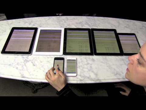 iPad mini and iPad 4 performance tests