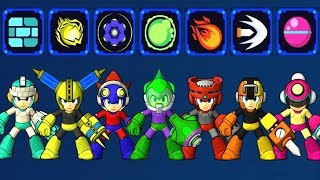 Mega Man 11 - All Power-Ups