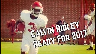Calvin Ridley ready for 2017 season