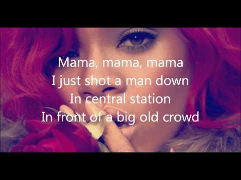 Rihanna- Man down lyrics