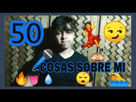 50 COSAS  SOBRE MÍ / Ricardo Romero