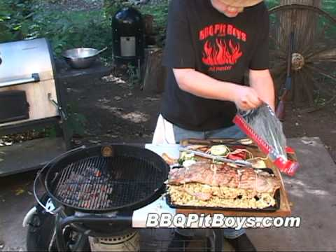 Pork Spare Ribs with Stuffing Recipe by the BBQ Pit Boys