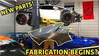Rebuilding A Wrecked Lamborghini Huracan Part 8