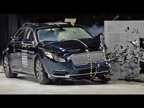 Lincoln Continental (2017) Crash Test