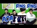 AOA - BING BING MV REACTION (FUNNY FANBOYS)