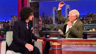 Howard Stern on David Letterman - November 22 2013 - Full Interview