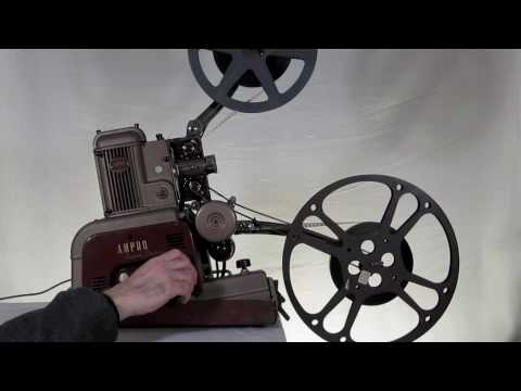 Ampro Super Stylist 16mm Projector