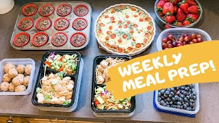 NEW WEEKLY MEAL PREP // QUARANTINE MEAL PREP // HOW TO MEAL PREP FOR THE WEEK