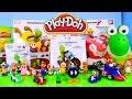 Play Doh Yoshi Egg Super Mario Toys Collection K'nex Mario Kart Builders By Disney Cars Toy Club