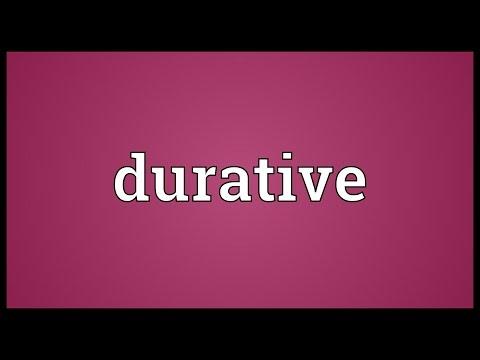 Header of durative