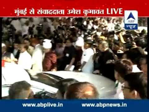 Shiv Sena leaders gherao Governors car after trust vote in Maharashtra...