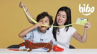 Maddox VS. Marina | Watch Ya Mouth, Beanboozled, and Doggie Doo | Kids Play | HiHo Kids