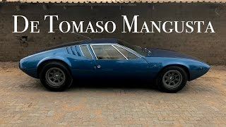 De Tomaso Mangusta road tested