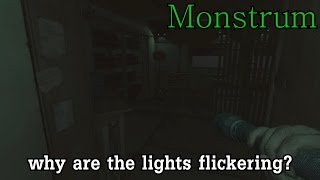 """Why are the lights flickering?"" l Monstrum (part 1)"