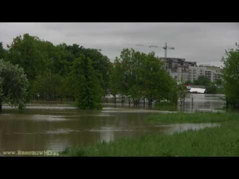 Powódź Rzeszów 2010 - Najnowszy Film (19.05.2010 Godz.12:00), HD Quality