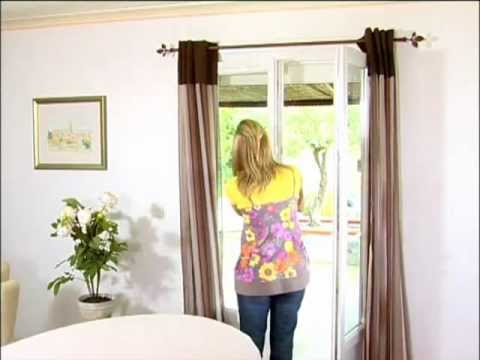 Tringles a rideaux sans percer secodir deco youtube - Tringle rideau pour dressing ...