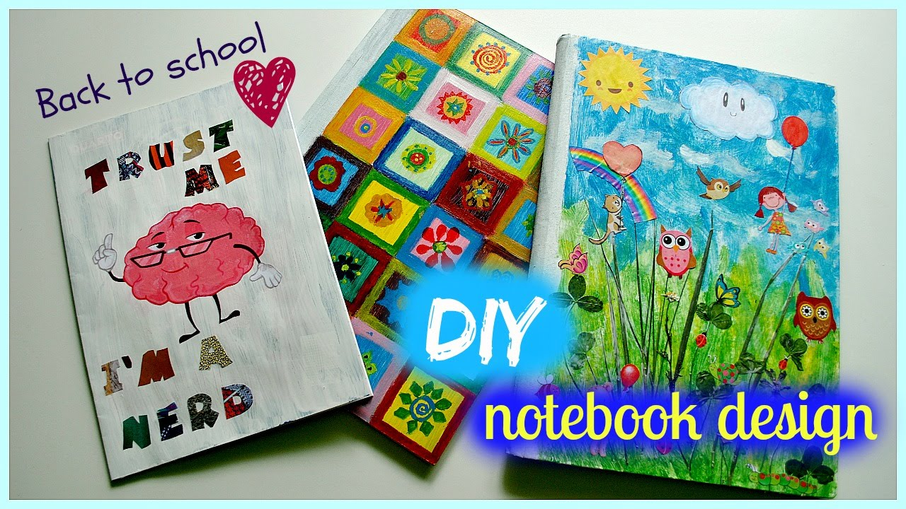 17 Awesome Ideas To Fill Your Blank Notebooks!  Heart