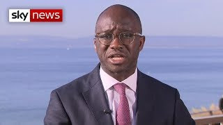Former Tory MP Sam Gyimah explains defection to Lib Dems